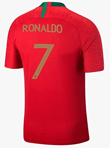 size 40 d2bc5 a1240 NEW CRJY 2018 World Cup Portugal Ronaldo #7 Soccer Short Jersey CR  (S(165-170CM))