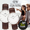 Daniel Wellington Couple Watches_100% Authentic !!! Free Shipping / branded watch / couple watch / gift