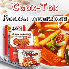 FROZEN FOOD★Cook-Tok Korean tteokbokki★original/jjol myun/rice