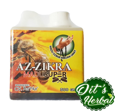 Super Az Zikra Pure Honey 500 gr SJ0473