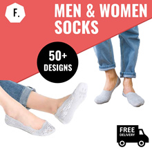 [EXCLUSIVE PROMO] Socks ALL at $1! 【MEN / WOMEN SOCKS】MANY DESIGNS Ankle Socks