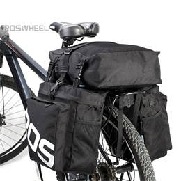 8186574a396 Roswheel 37L Waterproof Durable 3 in 1 Bicycle Rear Pannier Bag for Sports  and Outdoor