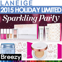 BREEZY ★ Club Laneige! Christmas Sparkling Party! [Laneige] Holiday BB Cushion / Sparkling Makeup Co
