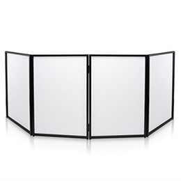 DJ Booth Foldable Cover Screen - Portable Event Facade Front Board Video Light Projector Display...