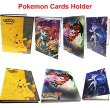 Pokemon Trading Cards Holder Album Portfolio Binders Pikachu Snorlax Pokemon Go Birthday Gift Kids