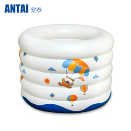 Thickened baby inflatable baby pool pool size newborn infant boys swim in the pool bucket