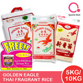 [Chip Seng Impex] Golden Eagle - 5KG/10KG THAI FRAGRANT RICE!| QUALITY RICE!