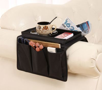 Qoo10 6 Pocket Couch Chair Sofa Arm Rest Organizer Remote Control