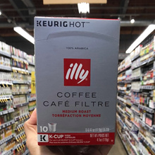 Illy Coffee Cafe Filtre Medium Roast Keurig K Cup 4.1 oz