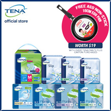 [Free 8 Pcs][TENA Official] TENA Full Range Adult Diapers / Value / Pants / Slip