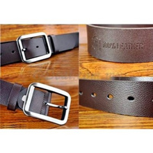 Men's Cowhide Leather Belt (available in 5 colours) Including Leather Hole Punch