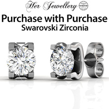 Swarovski® Zirconia - Purchase with Purchase - Caring Earrings