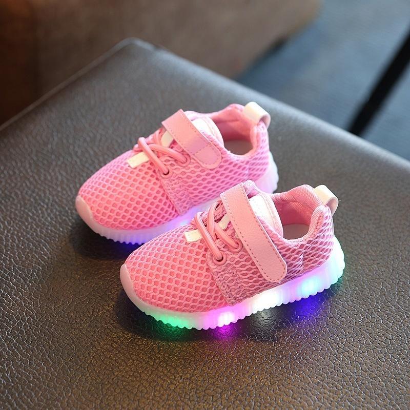 NEW Baby Kids LED Shoes Luminous Shoes