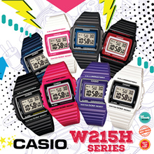 *CASIO GENUINE* W215H SERIES WATCHES! Free Shipping and Warranty Included!