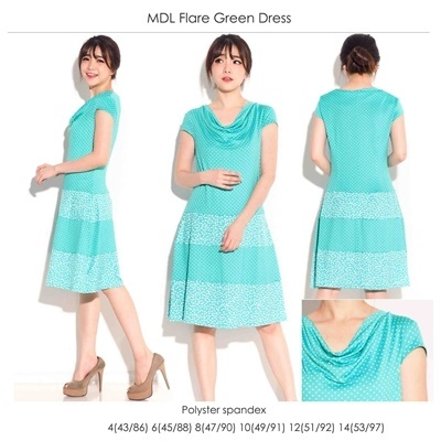 MDL Flare Green