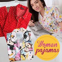 Women Pajamas - Baju Tidur - Big Size - Good Quality - Sleep Wear - mamamiacollection