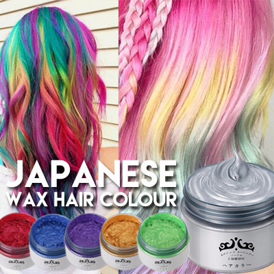 washable hair dye qoo10 cheapest japan colour hair wax washable hair 31752