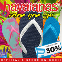 [30% Off Storewide Promotion!] Havaianas Singapore Official E-Store Colorful and Simple Flip-Flops For Your Everyday Lifestyle!