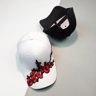 Chinese style new plum patch embroidery curved visor Hat outdoors men and  women fashion baseball cap b9ac2fca767