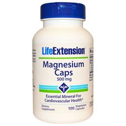 Life Extension Magnesium Caps 500 mg 100 Veggie Caps