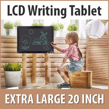 20 INCH ★ Extra Large LCD Writing Tablet Board Digital Drawing Handwriting Pads Portable Electronic