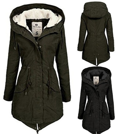 huge discount 5708b 58058 Qoo10 - Long Thick Jacket Coat Women Winter Parka FW120 with ...