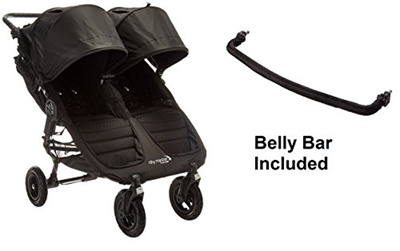 Sb Baby Jogger 2016 City Mini Gt Double Stroller Black Black With Double Belly Bar Usa
