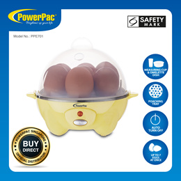 PowerPac Electric Egg Steamer (PPE701)