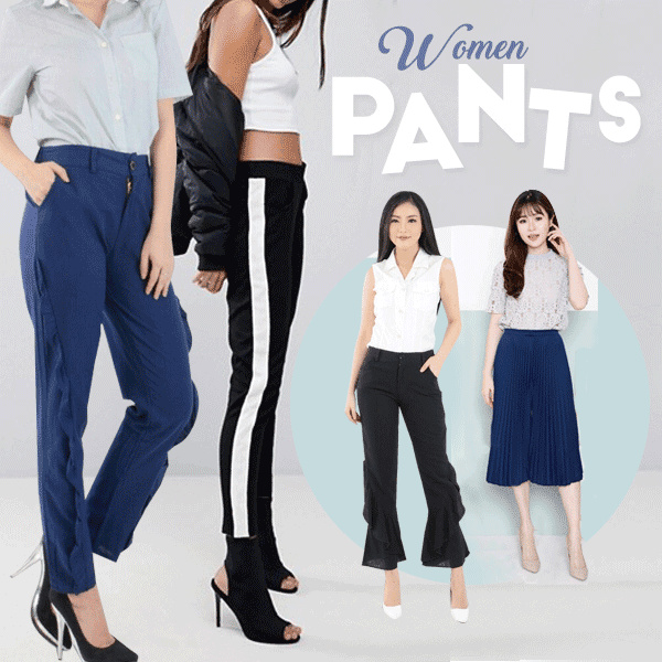 [FREE SHIPPING] CELANA STRIPES PANTS Celana Panjang / Celana Kantor / Celana Kulot / Celana Batwing Deals for only Rp85.000 instead of Rp85.000