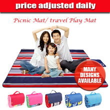 [Singtel]★price adjusted daily★Funnimals nado travel Play Mat / Picnic Mat for Family Outing