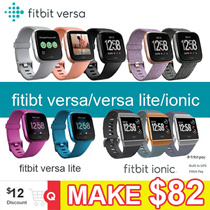 ★Clearance Sale★Fitbit Versa Lite ionic Watch band Heart Rate Activity Tracker -No Retail Package
