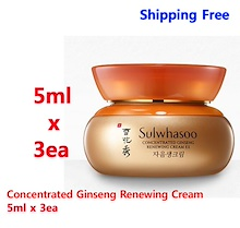 Sulwhasoo Concentrated Ginseng Renewing Cream 5ml x 3ea (sample)