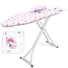 Ironing Board - Floral 110 X 31CM Sturdy Thick Frame/ Heat Resistant/ Heavy Duty/ 100% Cotton