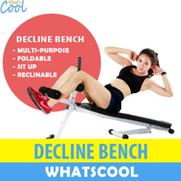 Work Out Bench Sit Up Incline Decline Ab Exercise Dumbbell Bar Sit-Up Pull Yoga Weights Workout