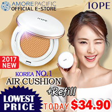 ★1-day ONLY 100P Limited Super Sale★[IOPE] 2017 NEW! ALL NEW AIR CUSHION + Refill