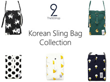 RESTOCK! ★가방T92 Korean Design Sling Bag/Pouches and many more★
