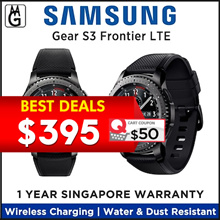 SAMSUNG AGENT SET GALAXY GEAR S3 FRONTIER I 1YR OFFICIAL SAMSUNG WARRANTY I BT I LTE.