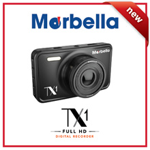 Marbella TX1 FHD1080P In Car DVR (Dashcam) (Night Sensor/G Sensor/Motion Detection/2.7inch LCD)