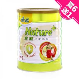 【豐力富】nature+4號兒童奶粉 1.5kg*7罐 (買6送1)《大樹健康購物網》