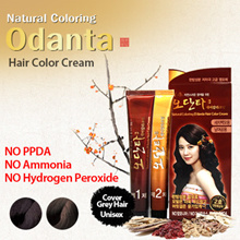 Organic Natural HAIR DYE Cover Grey Hair NO PPDA NO AMMONIA NO PEROXIDE