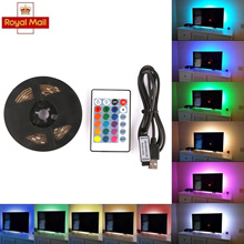 [SG Seller] RGB 5050 LED Strip Fairy Lights Battery Box Controller for Chiristmas Party Decoration