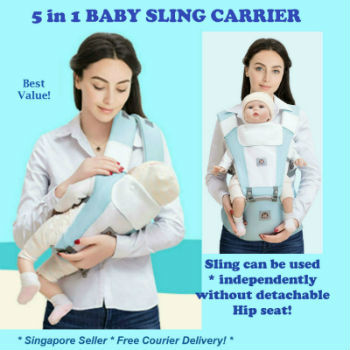 Baby Carrierbaby Carrier 5 In 1 Baby Slings Carrier Can Use Independently With Or Without Hip Seat