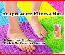 $2.60  Acupressure Fitness Premium Mat Foot Reflexology/Finger/Joint/Toe Massage Blood Circulation