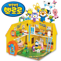 PORORO House Children Kids Baby Toys / Learning Educational Toy