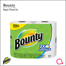 [PnG] Bounty Paper Towels 2 Rolls