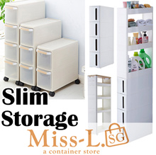 ◆MOVEABLE SLIM SHELF/kitchen shelf/Storage Cabinet Organizer /Slim drawer Rack/rack shelf