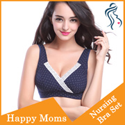 BRA03 Maternity Nursing BRA SET breastfeeding underwear pump bra confinement