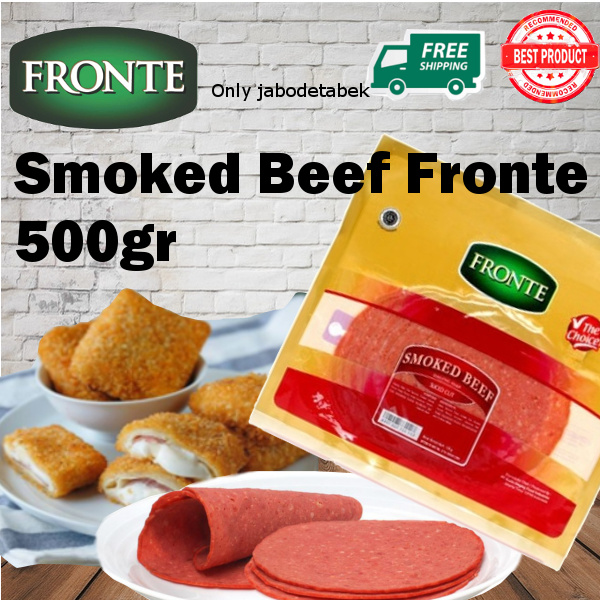 Smoked Beef Fronte 500gr Deals for only Rp78.900 instead of Rp78.900