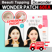 HOT IN KOREA!!★Dr.Wonder★Wonder Patch Plus - Acne Patch / Foot Care Sheets