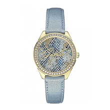 GUESS WHO ANALOG W0612L1 GOLD WOMENS WATCH